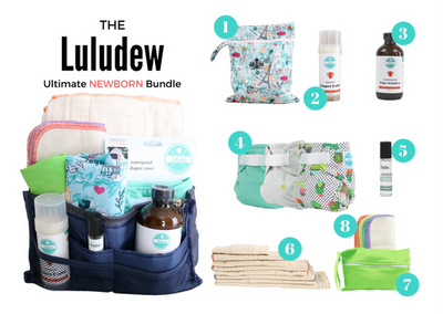Luludew Cloth Diapering Starter Kit