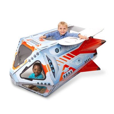 Melissa & Doug Rocket Ship Indoor Playhouse