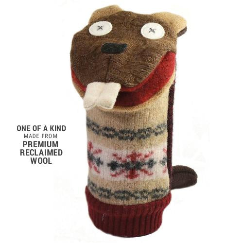 Cate & Levi Beaver Wool Puppet