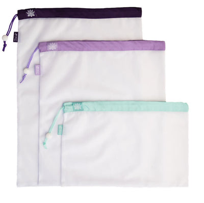 Lotus Reusable Mesh Produce Bags