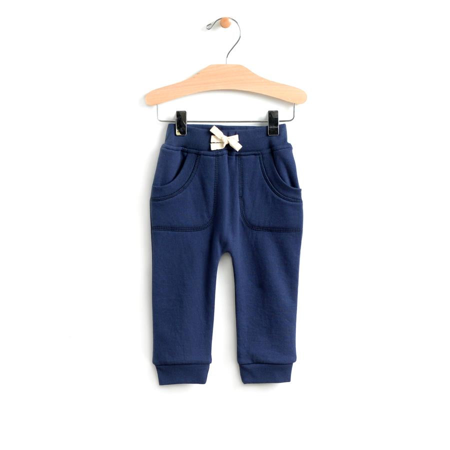 City Mouse - Patch Pocket Jogger - Midnight