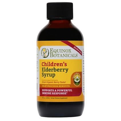 Equinox Botanicals Elderberry Syrup 4 fl. oz.