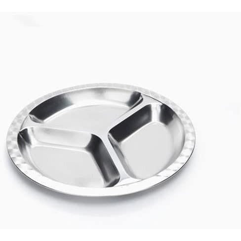 Onyx Stainless Steel Divided Plate