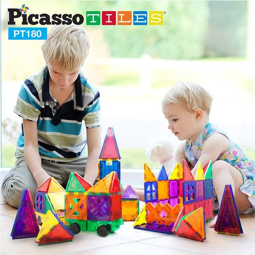 Picasso Tiles 180 Piece Magnet Set