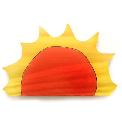 Goodfaith Toys Chunky Wood Sun Stacker
