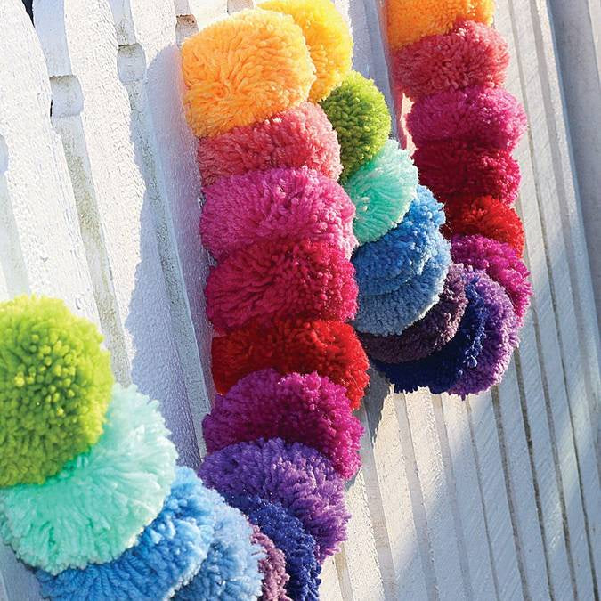 OB Designs Rainbow Pom Pom Garland