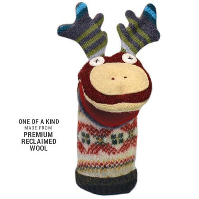 Cate & Levi Moose Wool Puppet