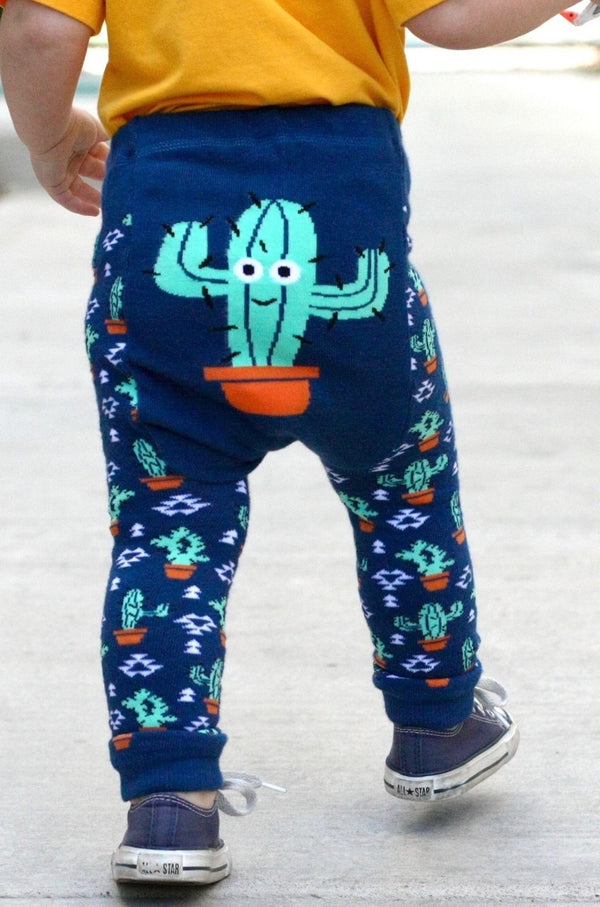 Doodle Pants - Southwestern Prickly Cactus