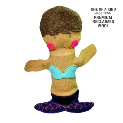 Cate & Levi Mermaid Wool Puppet