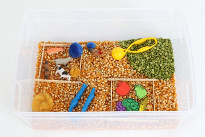 Messy Play Kits Farm Sensory Bin