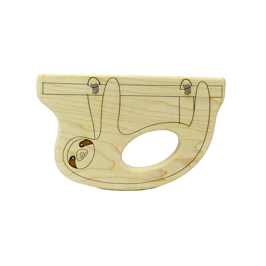 Little Saplings Sloth Wood Toy Teether