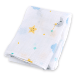 Lulujo Cotton Muslin Blanket