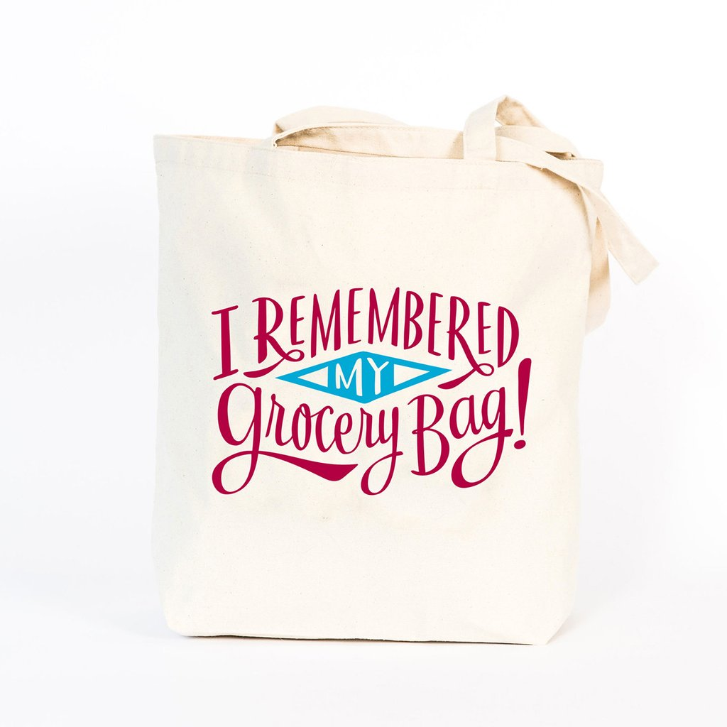 Emily McDowell Reusable Canvas Tote Bag