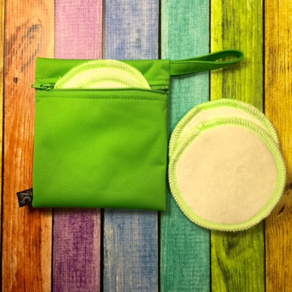 Z Creationz Nursing Pads + Bag