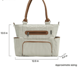 Grand Central Tote Diaper Bag - 7 Piece Set