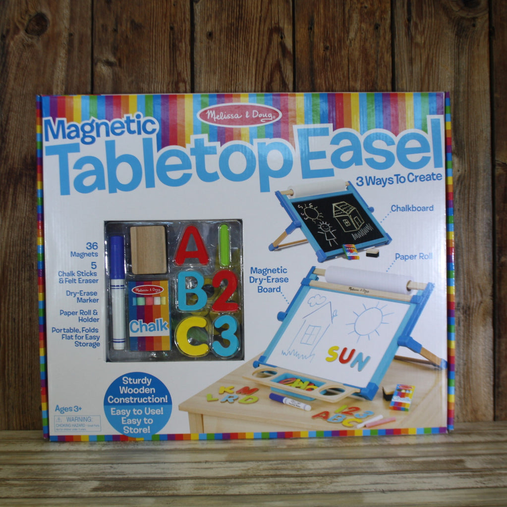Melissa & Doug Tabletop Easel – Summer Blowout ALL SALES FINAL