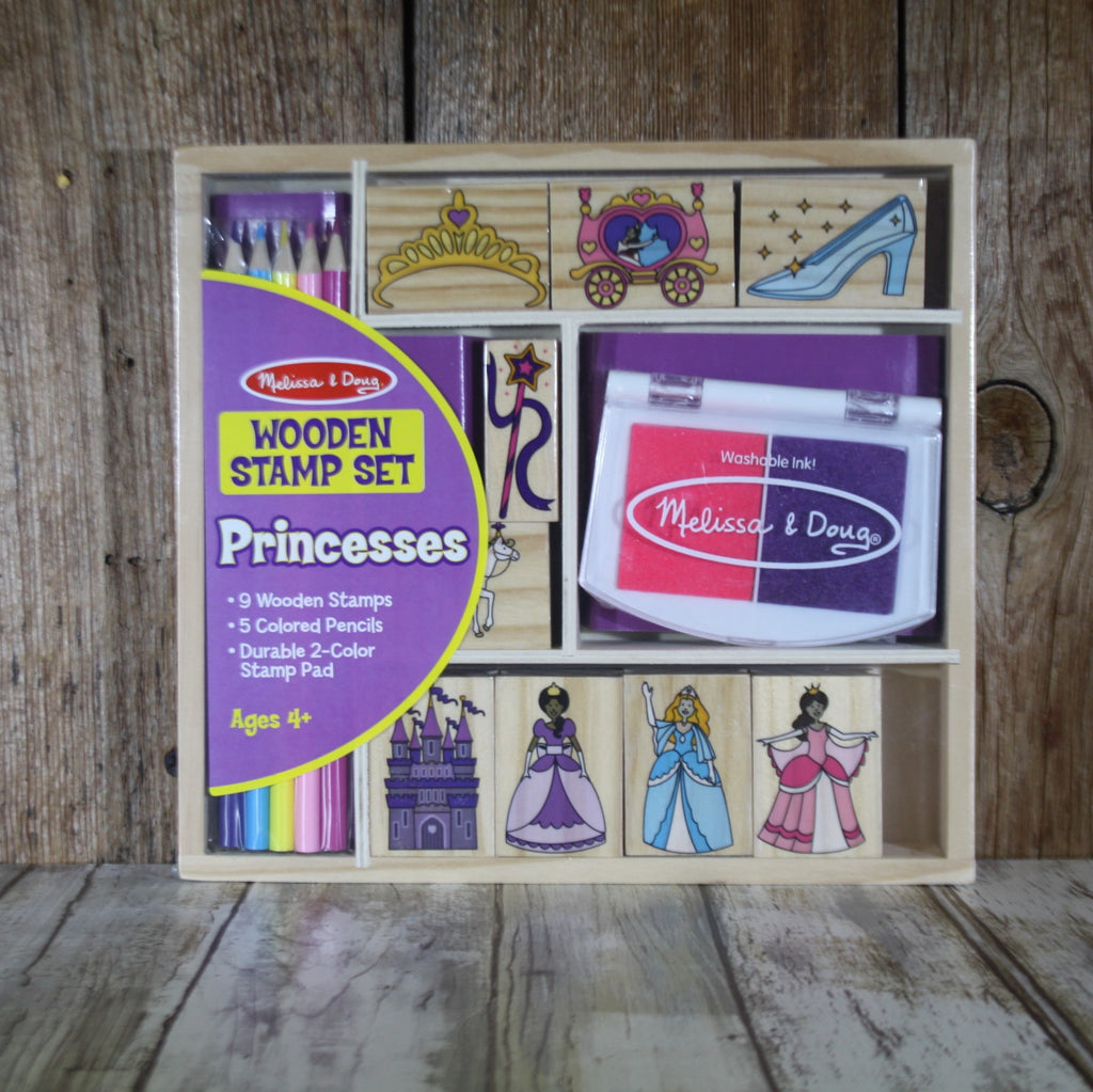 Melissa & Doug Princess Stamp Set – Summer Blowout FINAL SALE