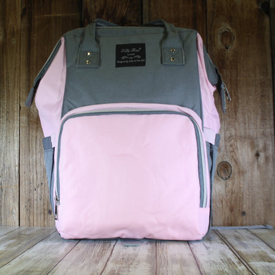 Metropolitan Diaper Bag Pink & Gray – Summer Blowout FINAL SALE