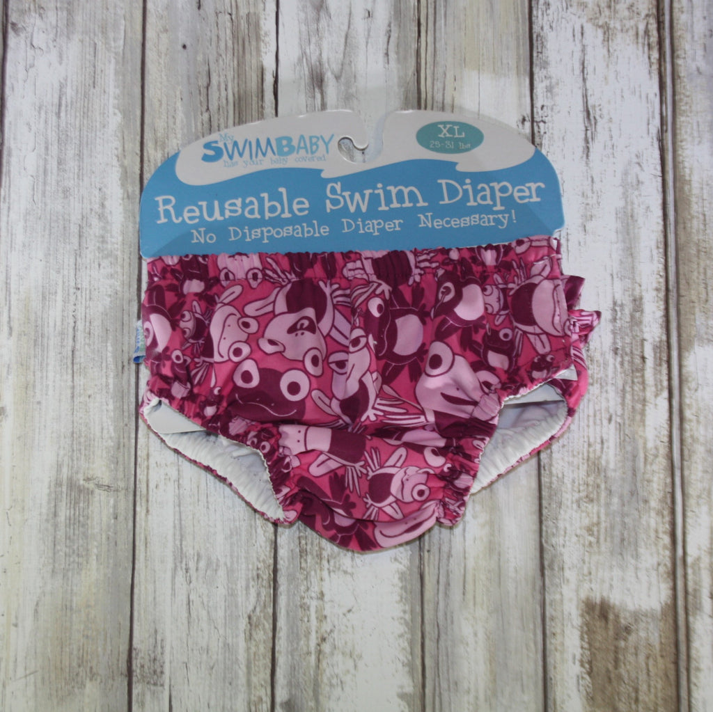 My Swim Baby Swim Diaper – XL Hopping Holly- Summer Blowout FINAL SALE