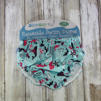 My Swim Baby Swim Diaper – 3XL Mermaids – Summer Blowout FINAL SALE