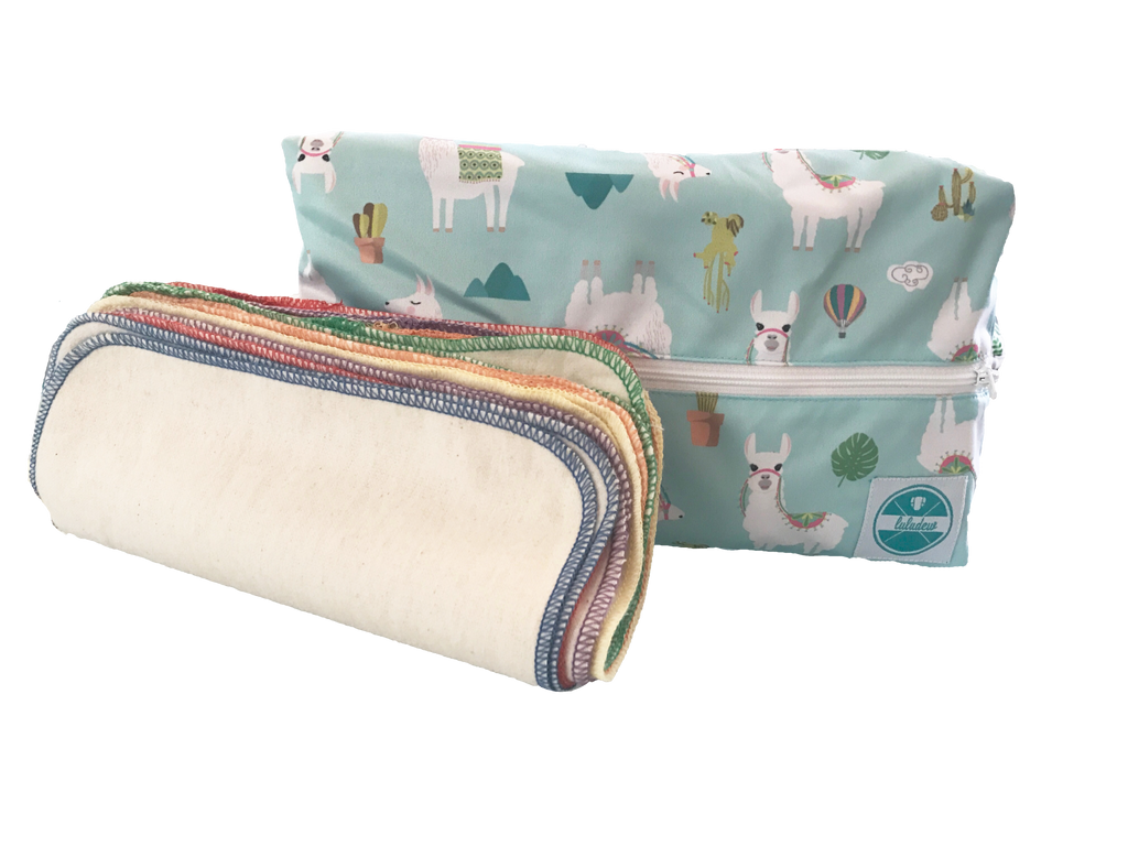 Luludew Basic Wipe Bag Set