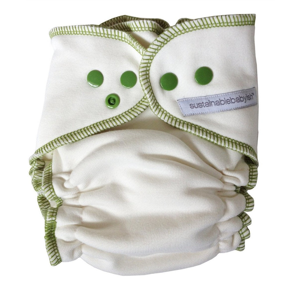 Sustainablebabyish Bamboo Overnight Fitted Diaper