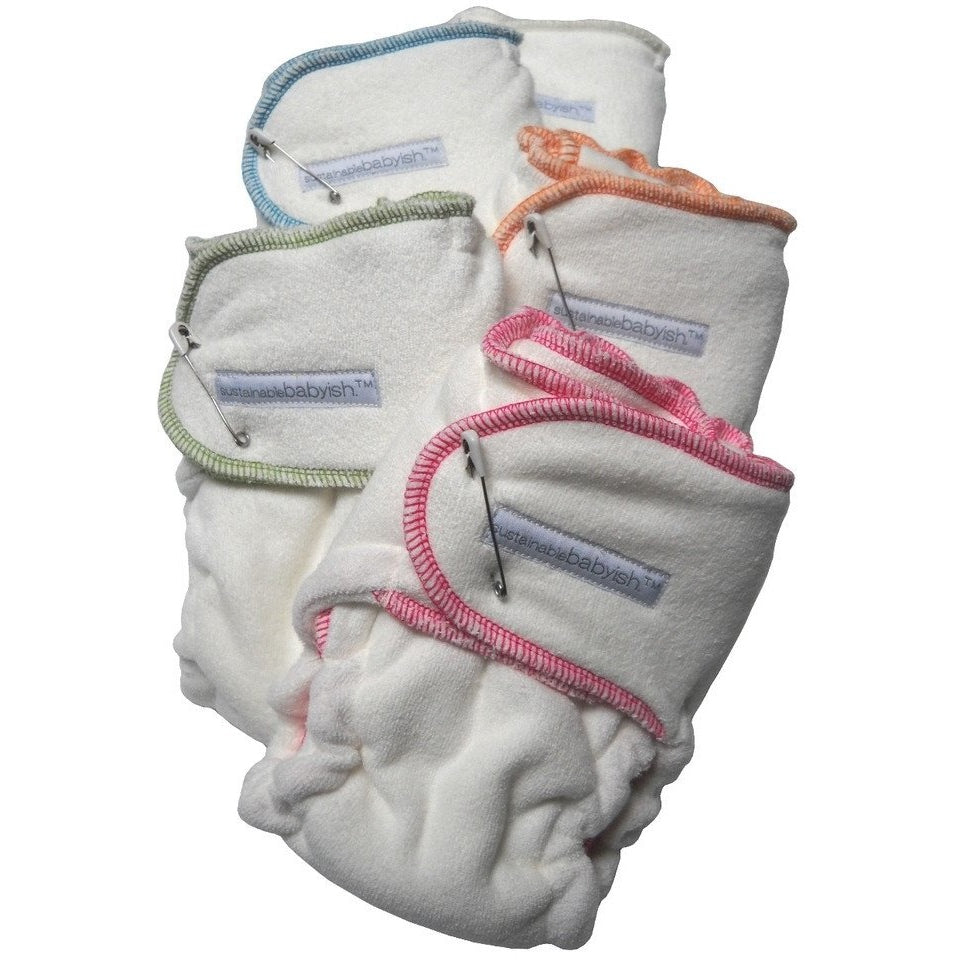 Sustainablebabyish Snapless Fitted Diaper