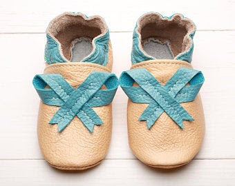 EVTODI Soft Sole Baby Shoes size 0-6 mos