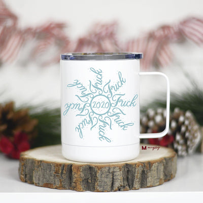 2020 Snowflake Insulated Mug with Handle