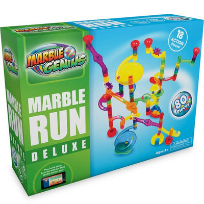 Marble Genius Marble Run Deluxe Set
