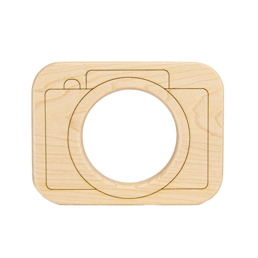 Little Saplings Camera Wood Toy Teether