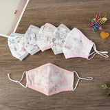Child Double Layer Cotton Gauze Print Mask