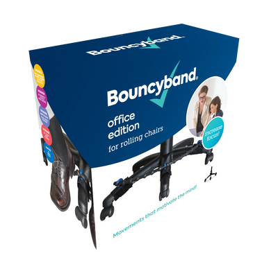 BouncyBand Rolling Office Chair Edition