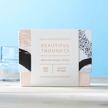Beautiful Thoughts - Postcards for Keeping and Sharing