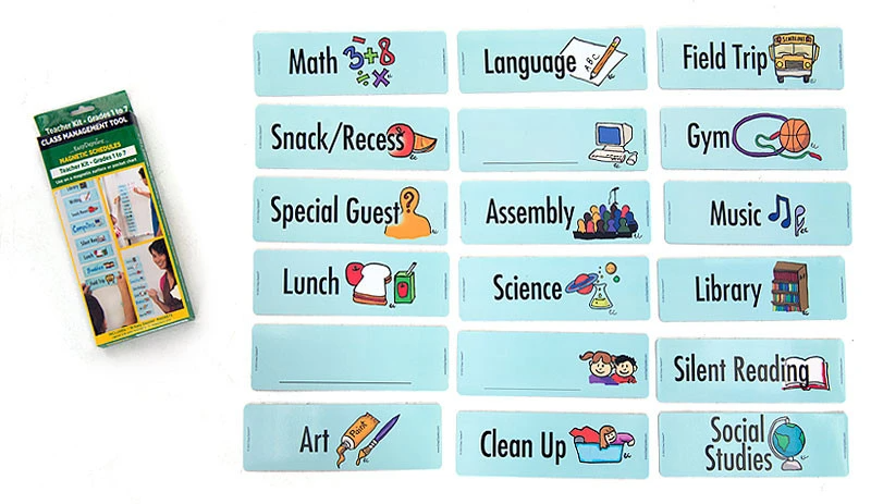 Easy Daysies Classroom Visual Schedule Add-On Pack