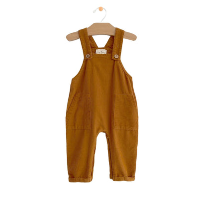 City Mouse - Amber Fine Wale Cord Overall