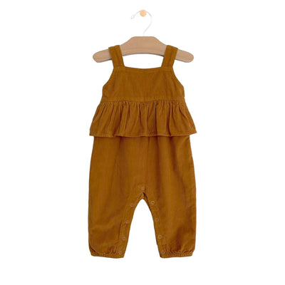 City Mouse - Amber Fine Wale Cord Romper