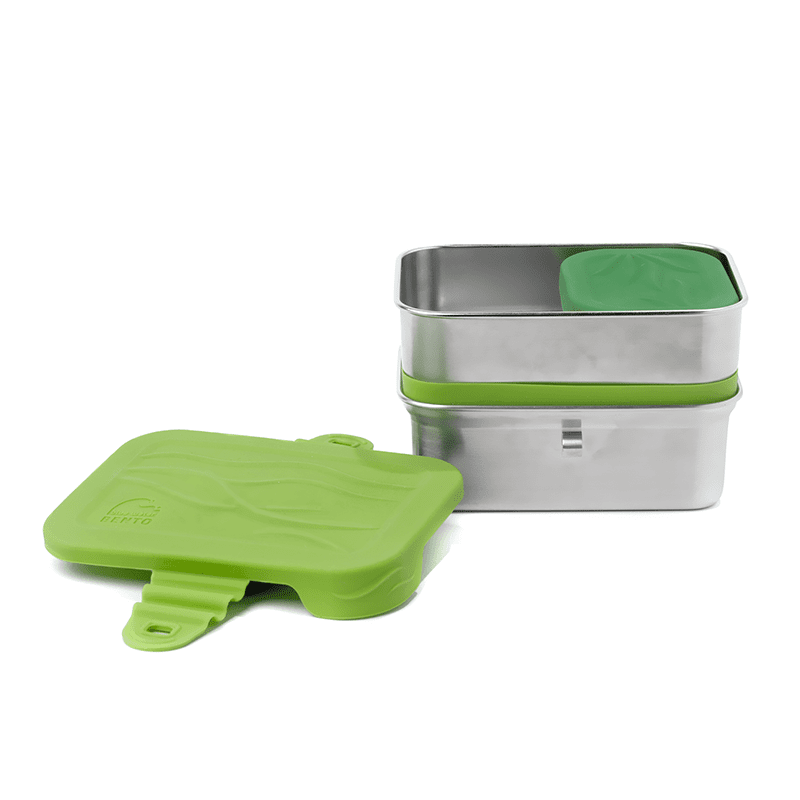 ECOLunchbox 3-in-1 Splash Box BLUE WATER BENTO