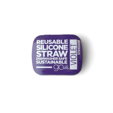 GoSili Silicone Straw with Travel Case