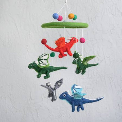 The Winding Road Wool Flying Dragon Mobile