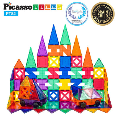 Picasso Tiles 82 Piece Magnet Creativity Set