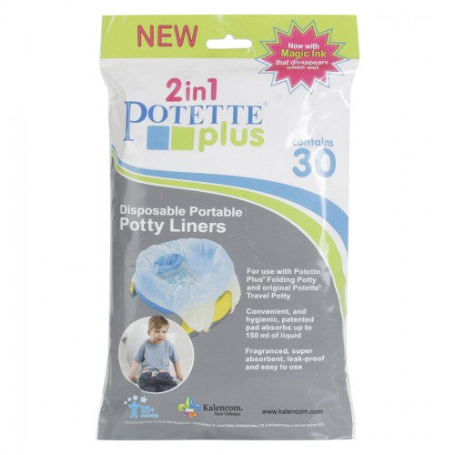 Potette Disposable Liners - 30 Pack
