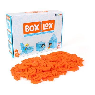 Box Lox Cardboard Builder (80 pcs)