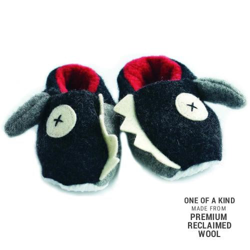 Cate & Levi Wool Baby Slippers