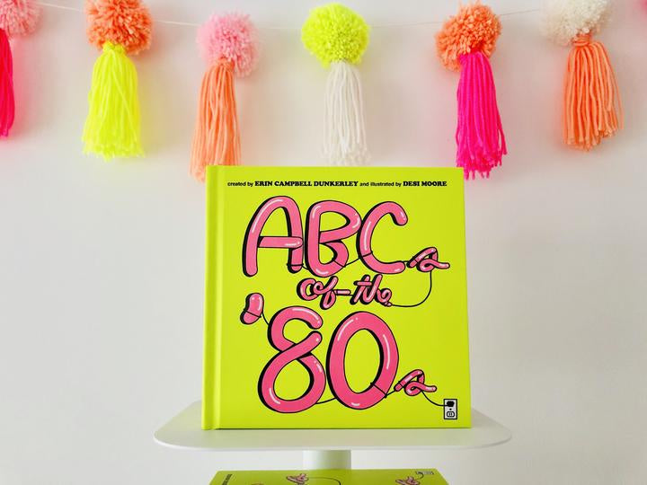 ABCs of the 80's Book