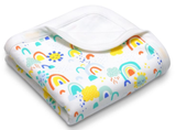 Apple Park Baby Blanket - Sunshine Collection