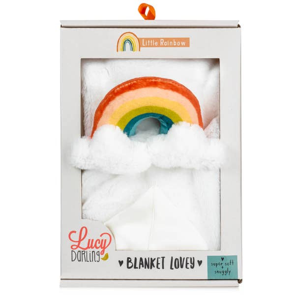 Lucy Darling Little Rainbow Lovey