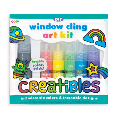 Ooly Creatibles DIY Window Cling Art Kit