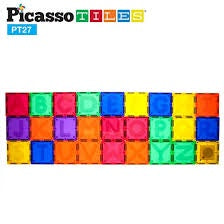 Picasso Tiles 27 Piece Magnetic Alphabet Set