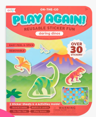 Ooly On-The-Go Play Again! Reusable Sticker Fun